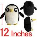 """Plush Adventure Time Penguin Plush Toys Soft Stuffed Animal Dolls Baby Toys Penguin Classic Toys1pcs Free Shipping 12"""" 30cm"""