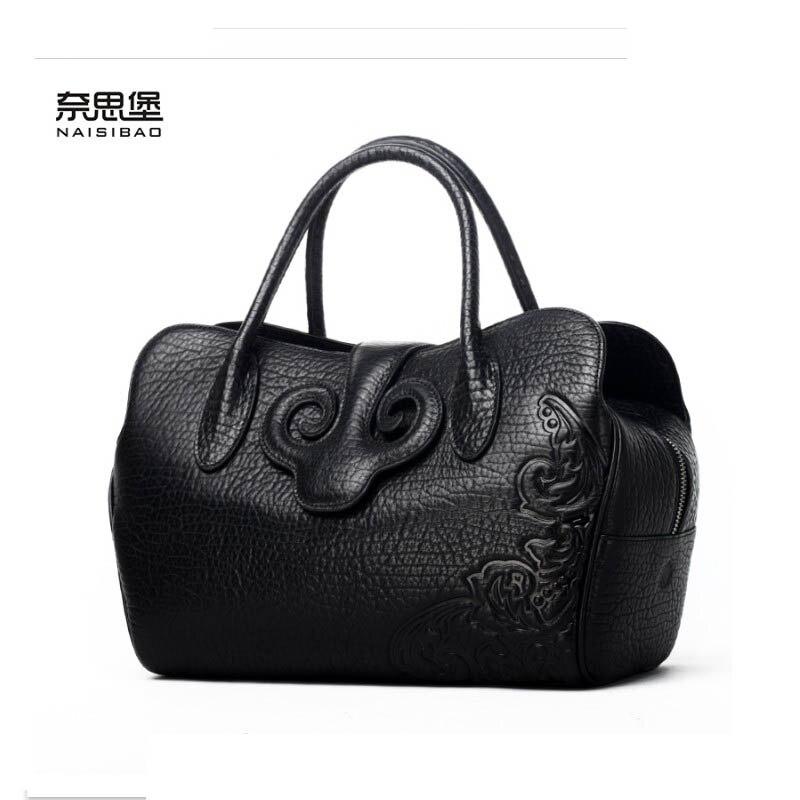 Новинка 2017 года женские натуральная кожа сумка Роскошные сумки женские сумки дизайнерские модные женские плечо сумка через плечо коровья к...