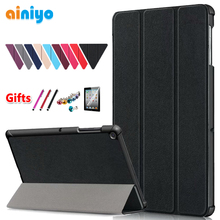купить Ultra Slim Case Cover for samsung galaxy tab S5e Tablet for galaxy tab S5e 10.5 SM-T720 SM-T725 fashion stand case по цене 596.62 рублей
