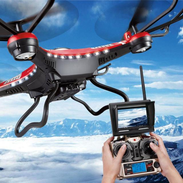 HOT SALE Fashion JJRC H8D 6-Axis Gyro 5.8G FPV RC Quadcopter Drone HD Camera With Monitor just for you