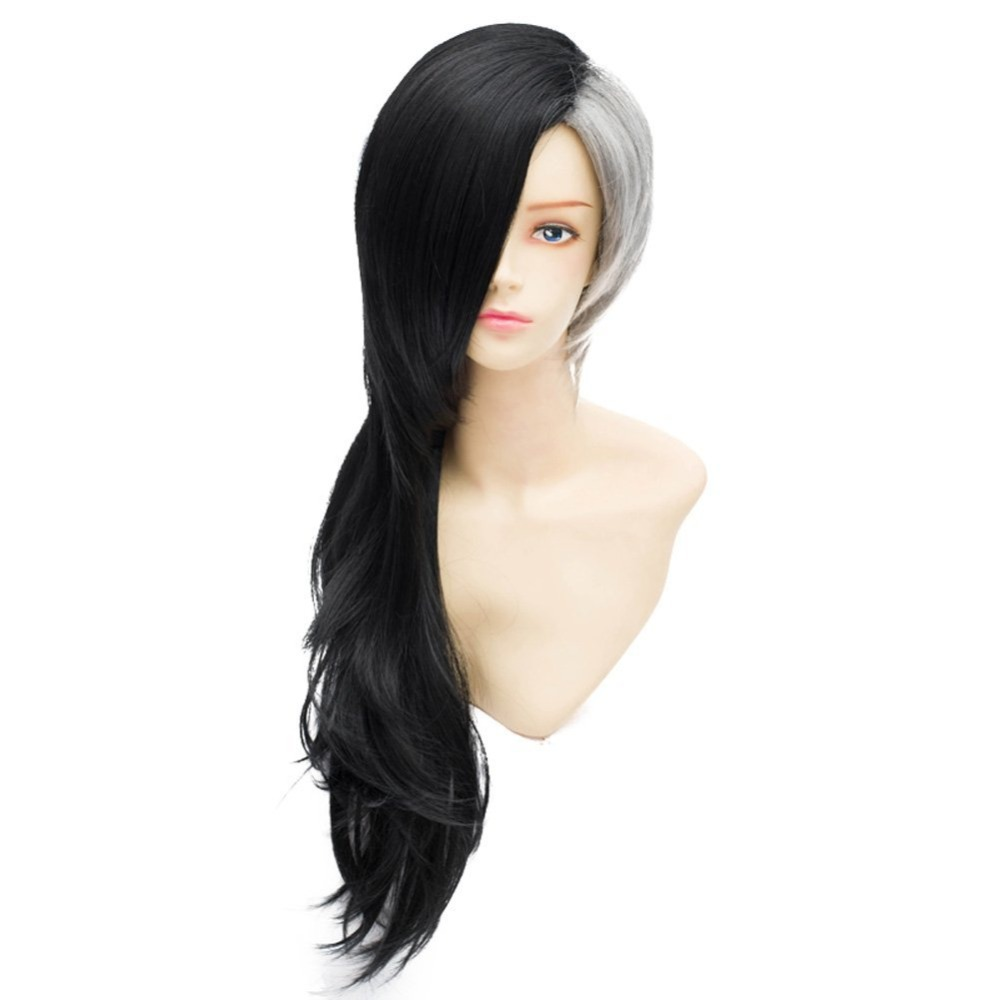 Tokyo Ghouls Mask Maker Uta Sister Cosplay Wig Black White ...