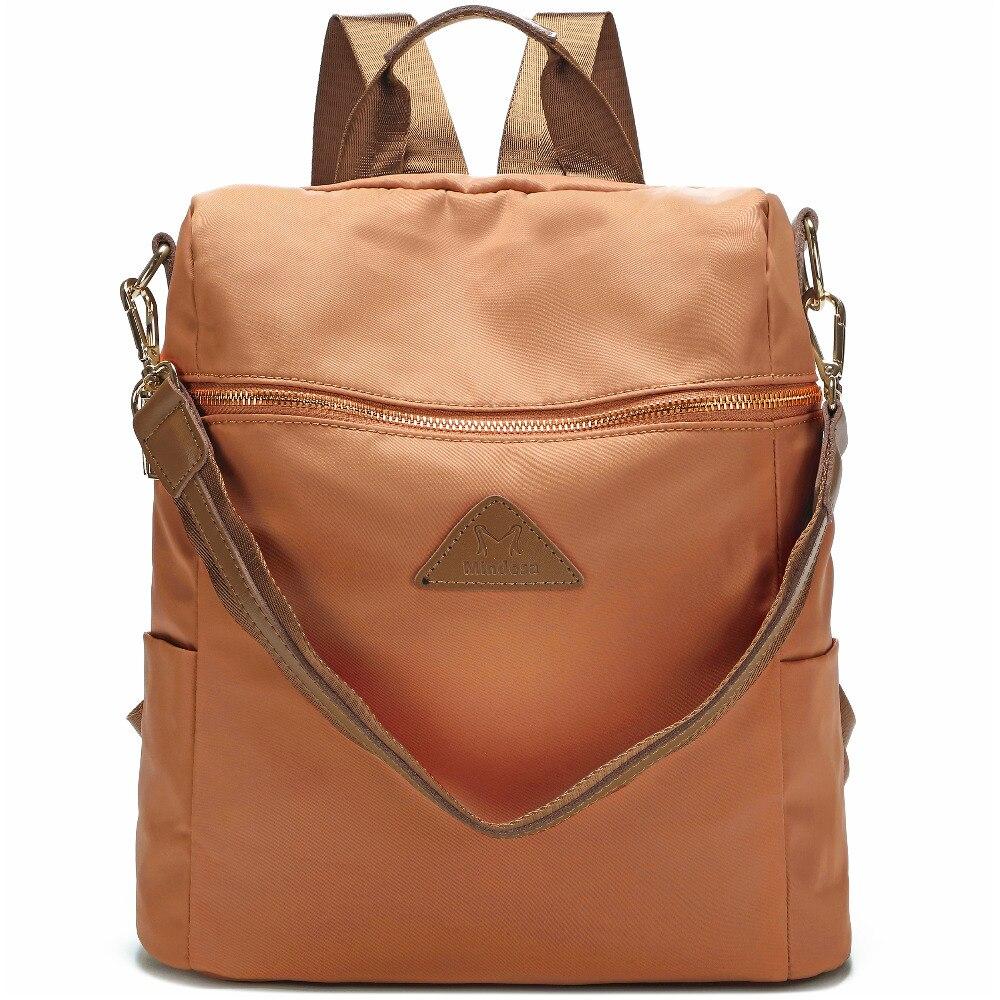 Vrouwen waterdichte nylon back pack dames schouder lichtgewicht reizen purse sling tassen voor vrouwen college boekentas