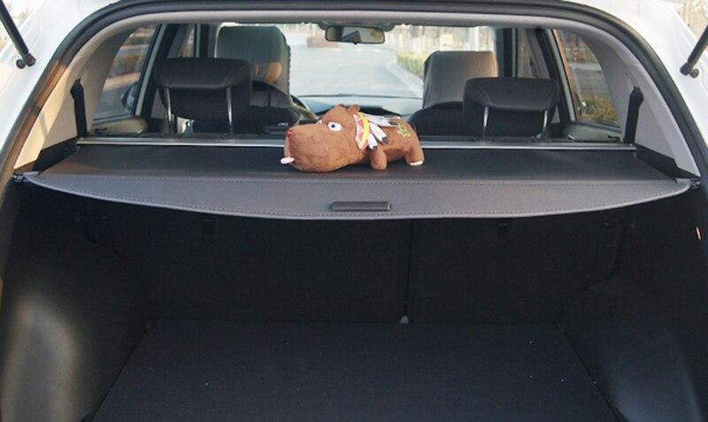 For Hyundai Santa Fe LWB 2013 2014 2015 Rear Trunk Security Shield Cargo Cover ...