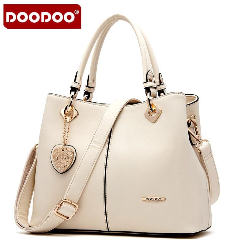DOODOO ženske prave usnjene torbice Vintage luksuzne torbice ženskih torb oblikovalec Bolsa Femininas Ženske Messenger Bag Torbe j398