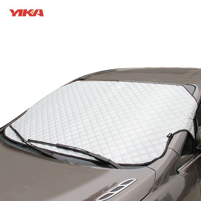 YIKA Car-styling Window Sunshade Car Windscreen Covers For SUV Ordinary  Reflective Foil Car Windshield sun protection 77a01f1fefe