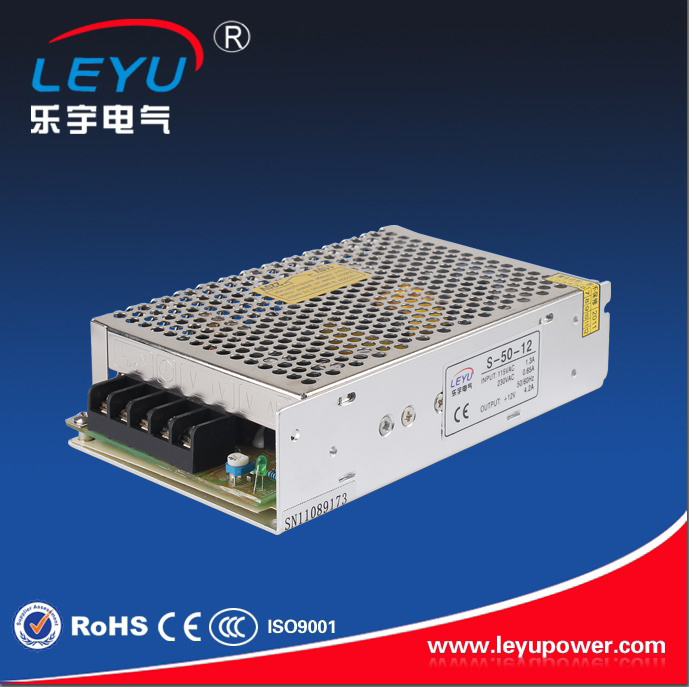 CE ROHS approved high quality led power supply 48v 50w  S-50-48 single output dc power supply 50w