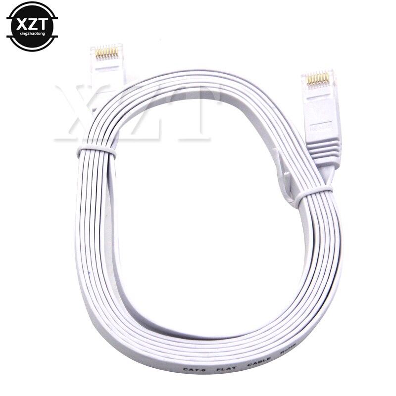 Hot sale RJ45 CAT6 Flat Ethernet Network LAN Cable UTP