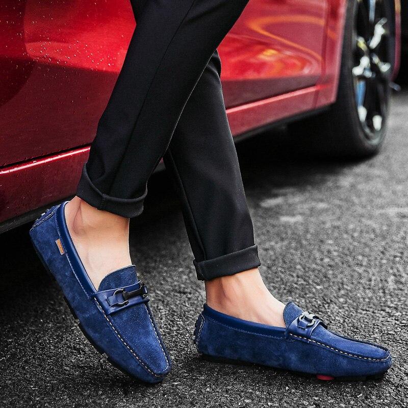 Lona Size39 Anti 44 cinza Dos Homem Qualidade azul Verão Homens 5j2865 Sapatilhas Casuais Confortáveis Sapatos slip Mocassins Sapatas Alta De Novos 2019 Preto Apartamentos brown wgvU0HXqOx