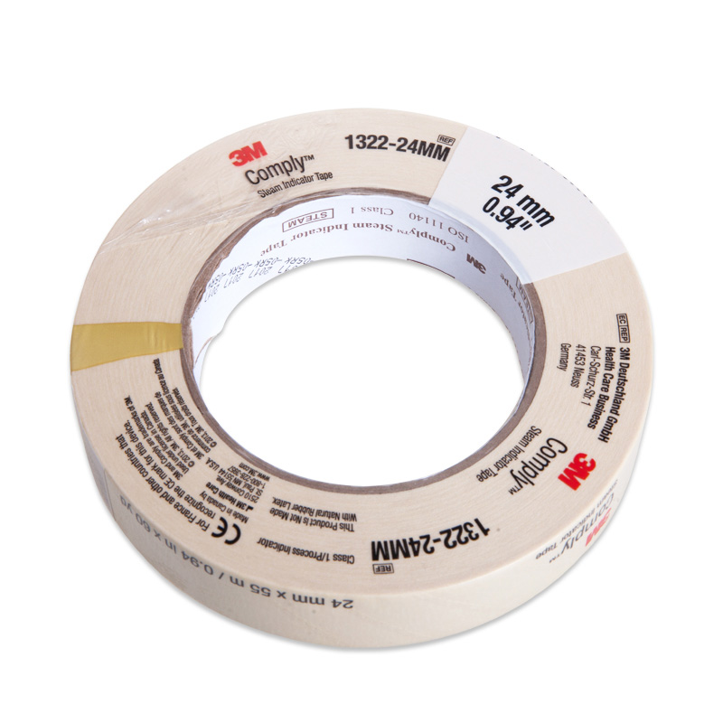 3M autoclaving indicator tape discolor tape laboratory equipment free shipping 1pc easyinsmile steam sterilization indicator tape lead free latex free infection control 13mm 19mm 25mm 60yard