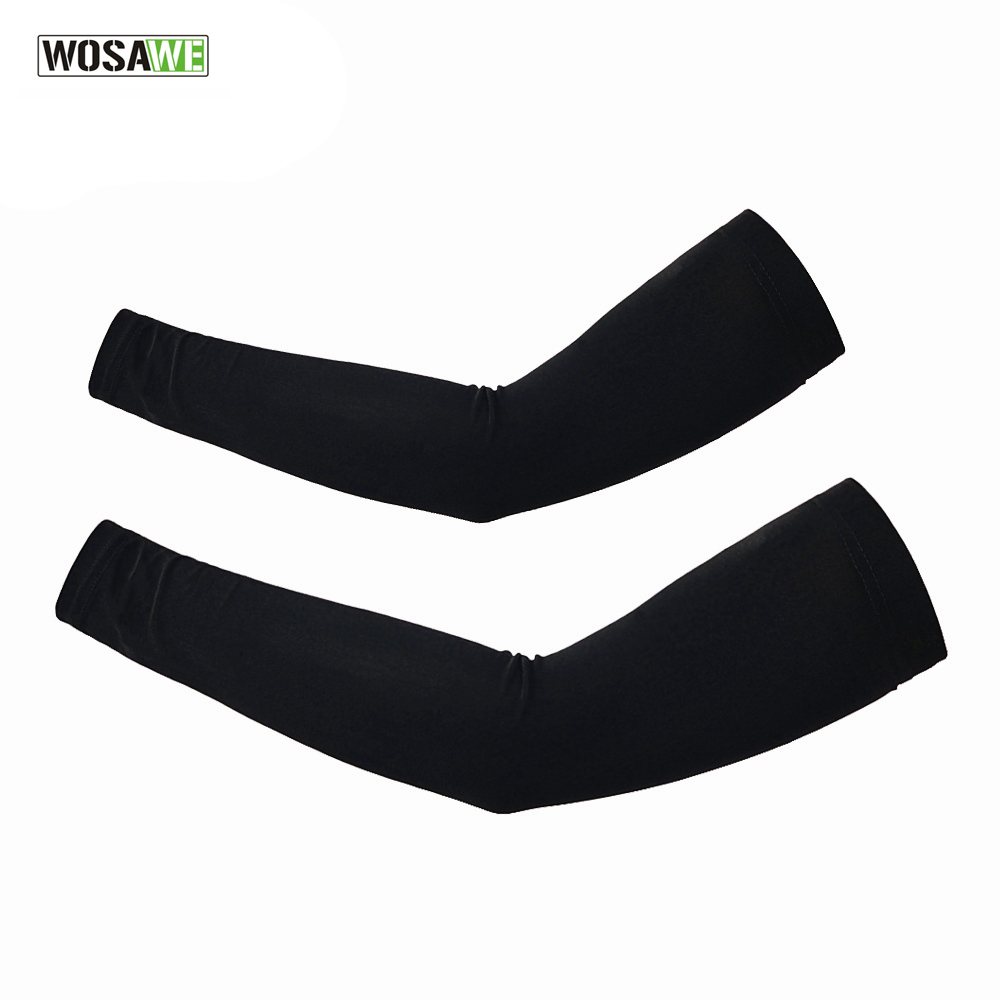 WOSAWE Bicycle Golf Arm Sleeves Protector Cover Guard Warmer UV Sun Protection Outdoor Sports MTB Road Bike Riding ClothesWOSAWE Bicycle Golf Arm Sleeves Protector Cover Guard Warmer UV Sun Protection Outdoor Sports MTB Road Bike Riding Clothes