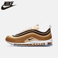 Nike Official Air Max 97 мужские беговые обувь напольная, удобная нескользящие спортивные кроссовки #921826