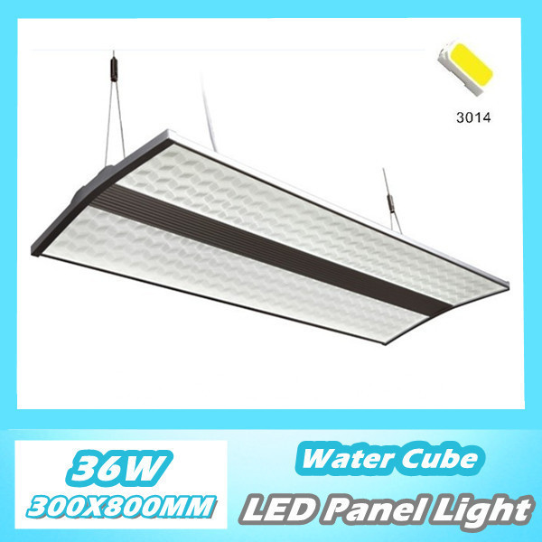 eco lighting supplies. New Invention 3D Water Cube Led Panel Light Pendant 36W 300x800mm SMD3014 Warm White/ Cold Dimable Office Lighting-in LED Lights From Eco Lighting Supplies E
