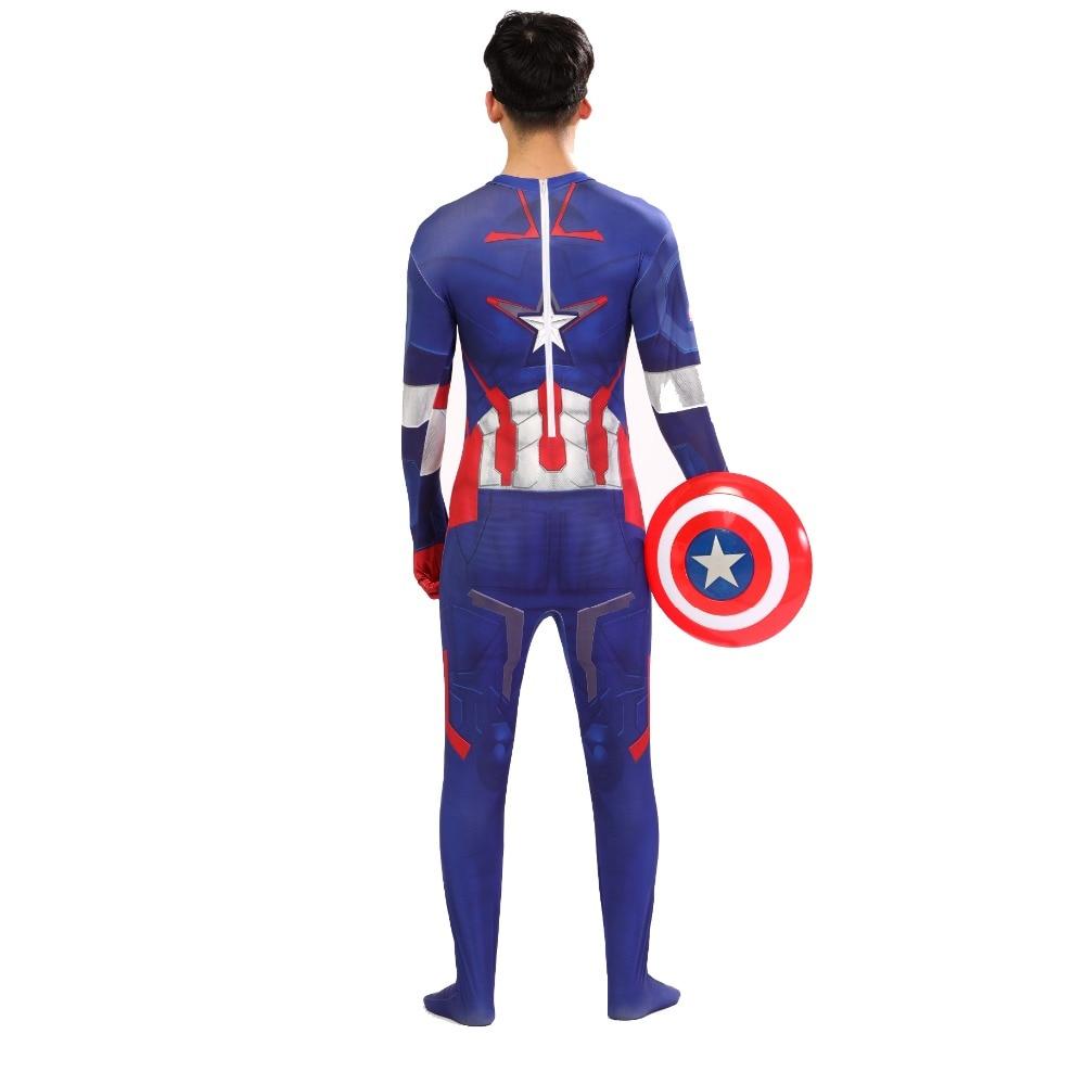 marvel avengers infinity war costume adult superhero captain america