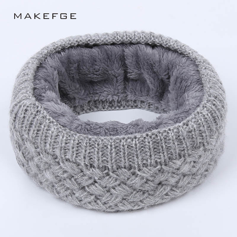 2018 wool Winter Scarf Child For Women Children Boys Scarf Thickened Wool Collar Scarves Girls Neck Scarf Cotton Unisex
