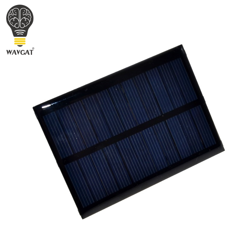 Active Components 100% Quality Solar Panel 0.5w 5v Portable Module Diy Small Solar Panel For Cellular Phone Charger Home Light Toy Etc Solar Cell Electronic Components & Supplies