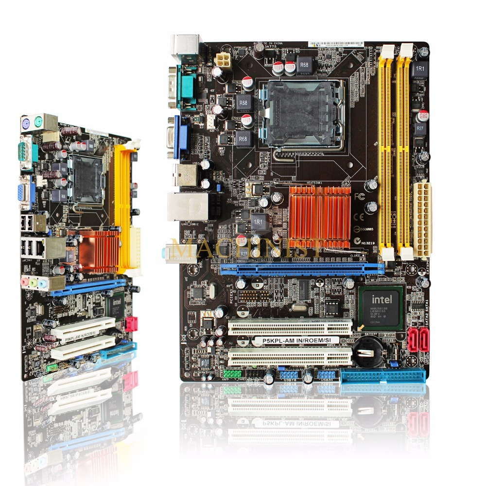 P5KPL-AM Original For ASUS P5KPL-AM G31 desktop motherboard LGA775 DDR2 100% tested intact Free shipping