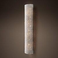 Modern Art Decor Vintage K9 Crystal Chandelier Wall Sconce Lamp Light Lighting for Home Hotel Dining Room Decor