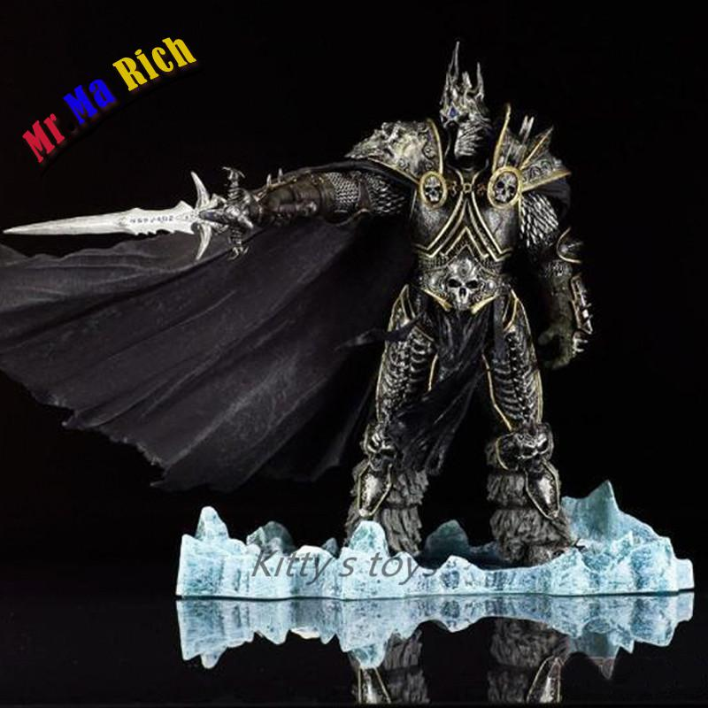 hot Wow Dc7 Fall Of The Lich King Arthas Action Figure Model Toy 21cm wrath of the lich king collectors edition eu киев