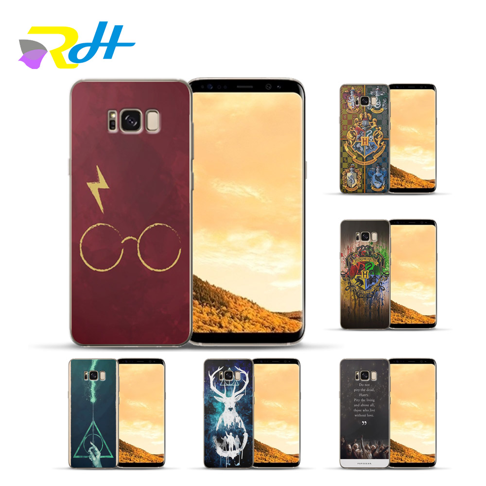 Officiel Harry Potter Personnages Deathly Hallows I Coque en Gel molle pour Samsung Galaxy A50