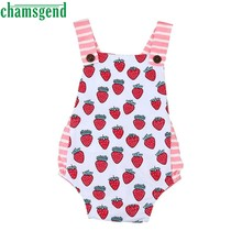 b0b75639302 Triangle climb clothes for 0-18M White Newborn Infant Baby Girl Floral  Striped Sleeveless Romper Jumpsuit Sunsuit Outfits P30
