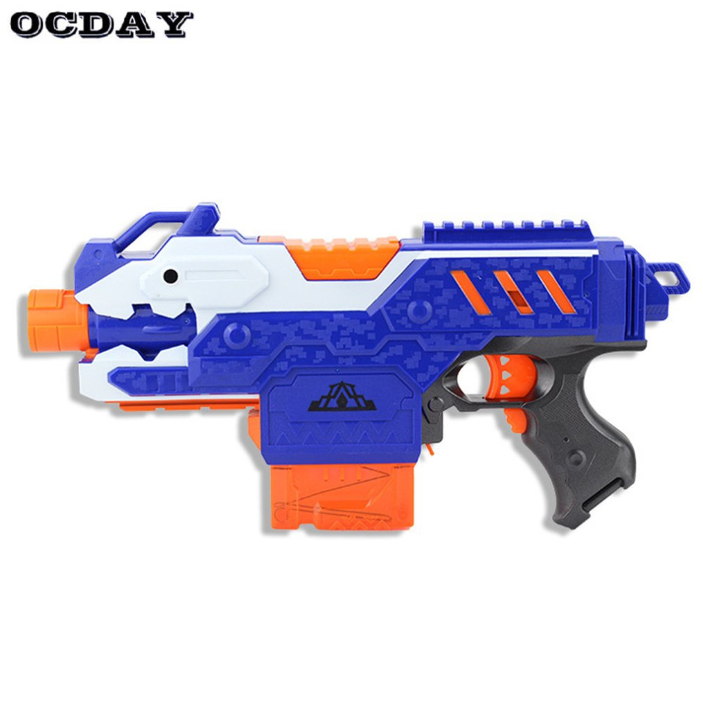 Hot ocday electric gun plastic sniper rifle bullet toy gun super far range soft bursts gun