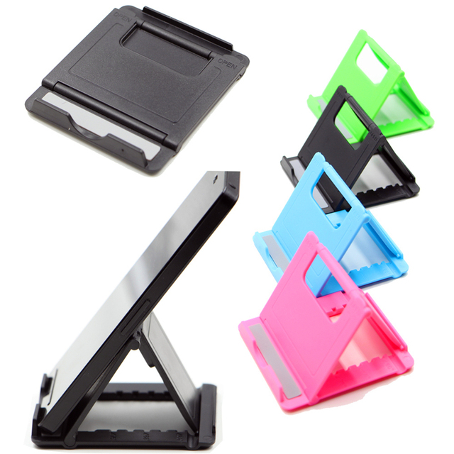 292e86d117 Phone Stand Desk Holder Universal Adjustable Cell Phone Mini Holder  Foldable Smartphone Phone Bracket for iPhone Samsung Ipad