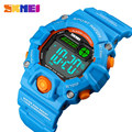 SKMEI NEUE Kinder Uhren Digitale Armbanduhr 50M Wasserdichte Kunststoff Fall Alarm Jungen Mädchen Kinder Uhr 1484 reloj-in Kinderuhren aus Uhren bei