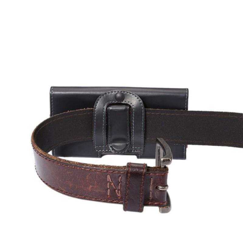Belt Clip PU Leather Waist Holder Flip Pouch Case for Philips Xenium X588 V377 V787 V526