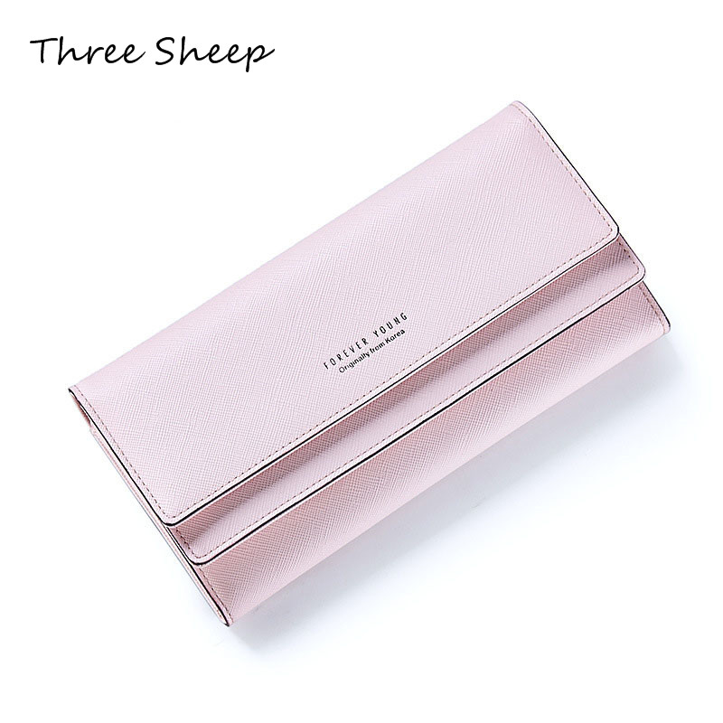 Pink Women Wallets Long Wallets Hasp Purse Women Walet Money Wallet Card Holder Ladies Designer Purse Portomonee Vrouwen casual weaving design card holder handbag hasp wallet for women