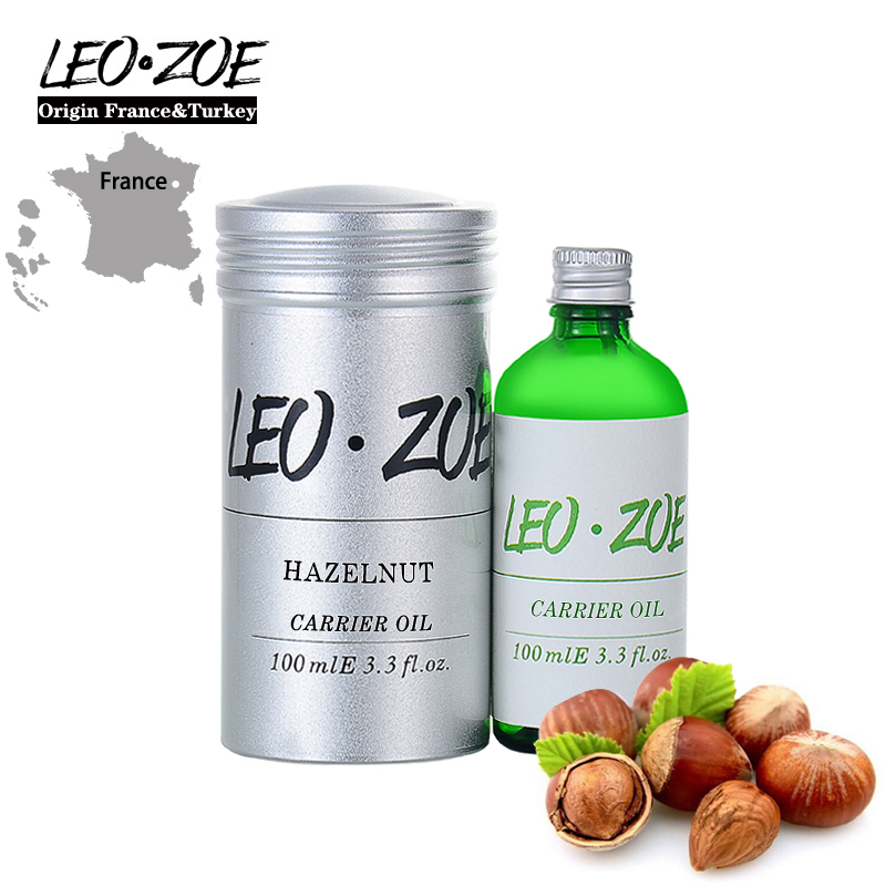 LEOZOE Pure Hazelnut Oil Certificate Of Origin France High Quality Hazelnut Essential Oil 100ML Essential Oil Huile Essentielle