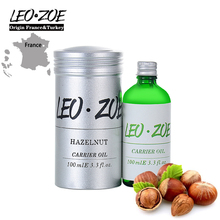 LEOZOE Pure Hazelnut Oil Certificate Of Origin France High Quality Hazelnut Essential Oil 100ML Essential Oil Huile Essentielle
