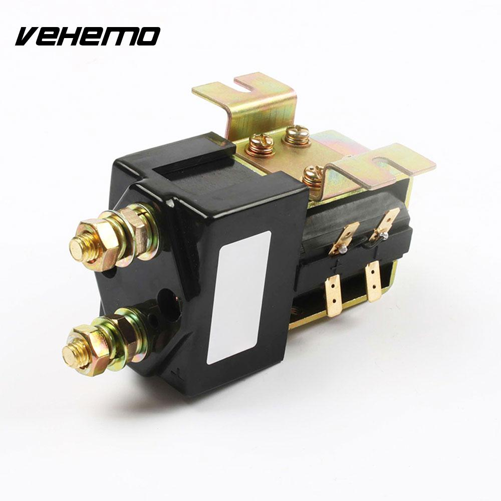VEHEMO DC 12V 200A Relay Direct Current Contactor Telecommunication Equipment Engineering Machinery Electric Vehicle Protective