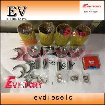 V3800 V3800T V3800-DI-T Piston+ ring+cylinder liner +gasket+engine bearing for kubota engine overhaul kit