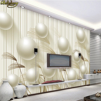 Beibehang Custom Photo Wallpaper Large Wall Painting Wall Stick 3d 3d Circle Reed Grass Background Wall