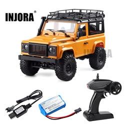 1:12 Bilancia MN Modello Versione RTR RC Auto 2.4G 4WD MN-90K MN-91K RC Rock Crawler D90 Defender Pick-Up A Distanza giocattoli del Camion di controllo
