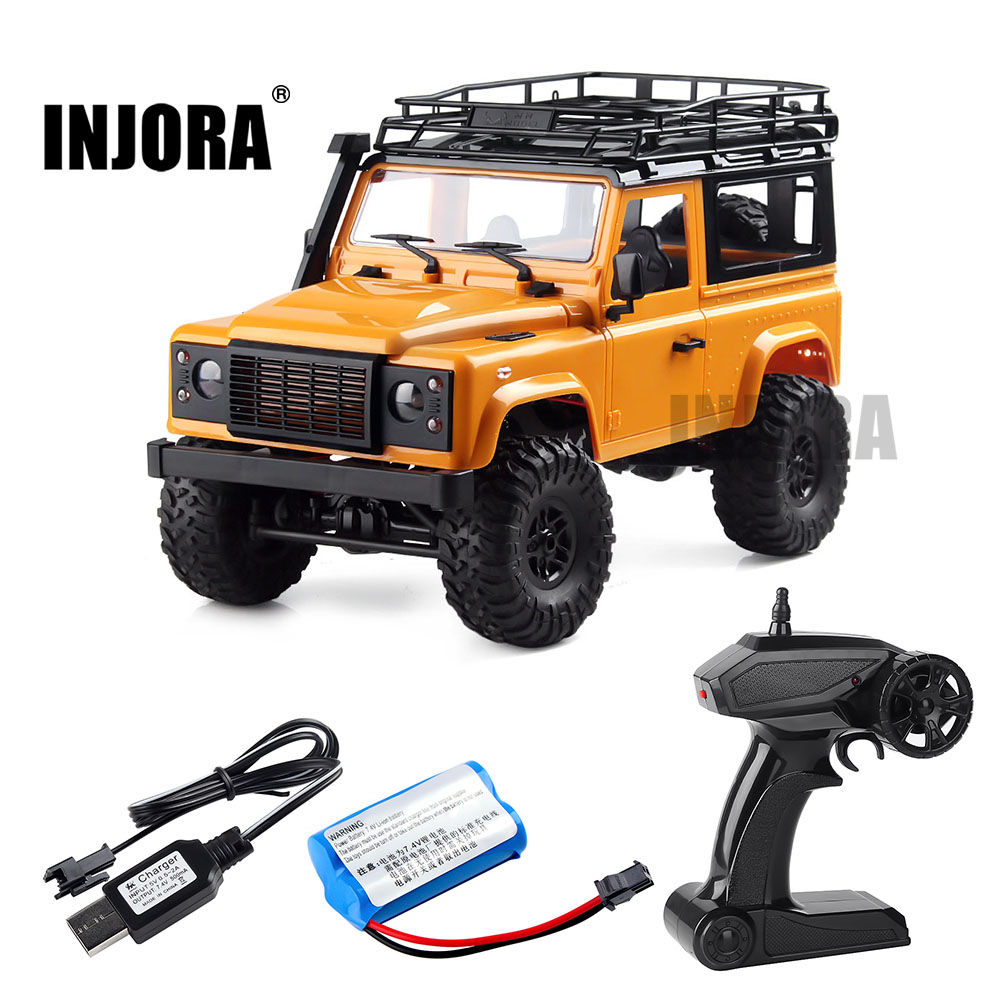 1:12 Escala Modelo de MN Versão RTR RC Car 2.4G 4WD MN-90K MN-91K RC Rock Crawler D90 Defender Pickup Remoto brinquedos Caminhão de controle