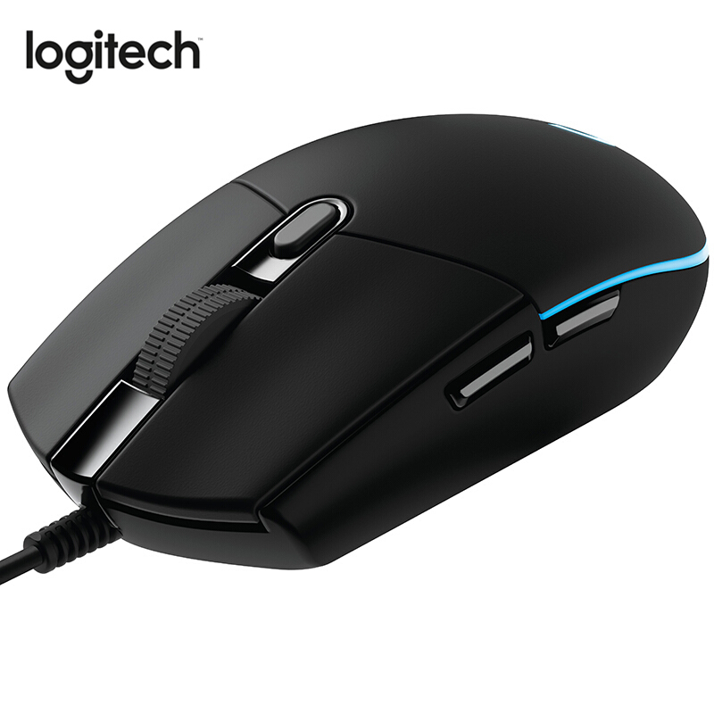 Logitech Original G102 Prodigy Gaming Mouse with 8000DPI RGB 10M Clicks Programmable for All Mouse Gamer PUBG Overwatch image