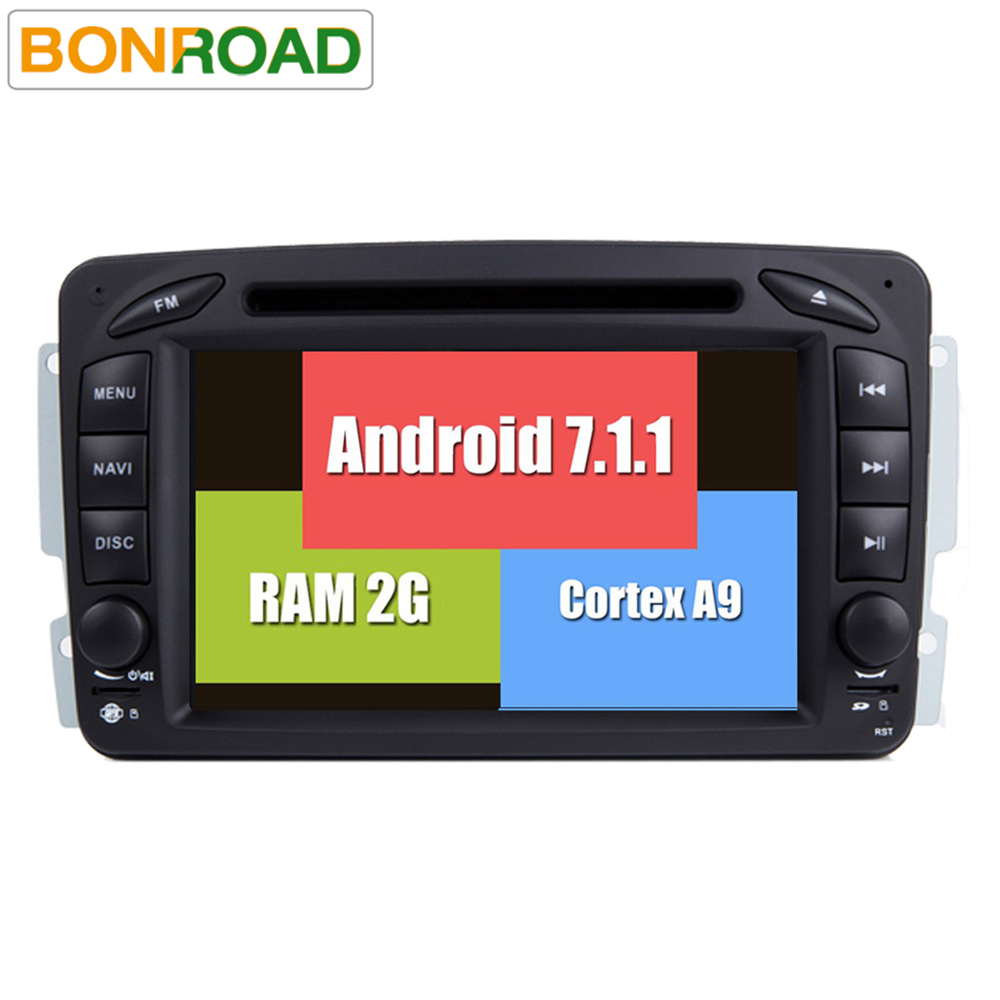 """imágenes para 7.1.1 RK3188 Android 2G RAM 7 """"Reproductores de Dvd Para Mercedes/W209/W203/W168/M/ML/W163/W463/Viano W639 Vito/Vaneo Wifi GPS Radio FM"""