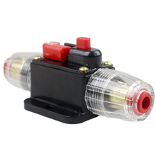 100A 50A 60A 80A 150A 12V Car Truck Audio Amplifier Circuit Breaker Fuse Holder AGU Style Stereo Amplifier Refit Fuse Adapter
