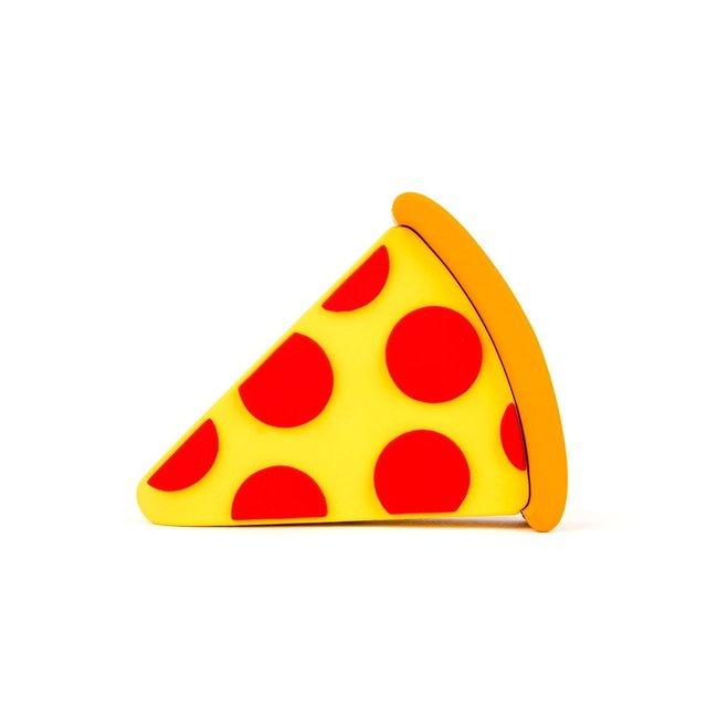 Banco de la Energía 2600 mAh banco de la energía Portable Lindo Unicornio de Pizza Emoji Emoji Pizza de Energía Banco de la Energía del Cargador de Batería del USB de la Historieta banco