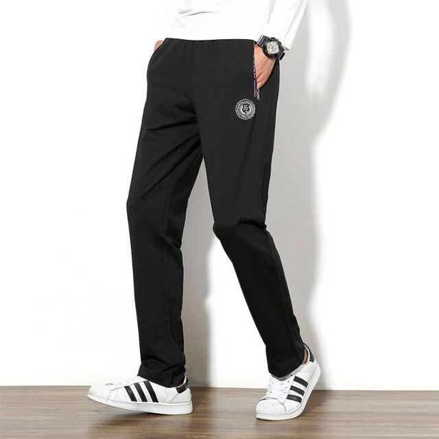 Новое Прибытие Высочайшее Качество Негабаритных 5XL Мужские Брюки Известный Бренд Pantalones Hombre 4 Цвета Брюки Мужчины Бренд-одежда Горячей продажа