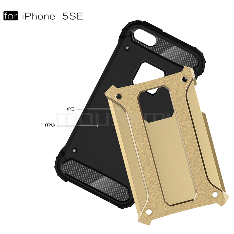 iPhone 5s Case Silicone Luxury Shockproof Case Cover 2