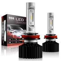 Car Styling H4 HB2 9003 LED H7 H1 Car Headlight Bulb H8 H9 H11 HB3 9005