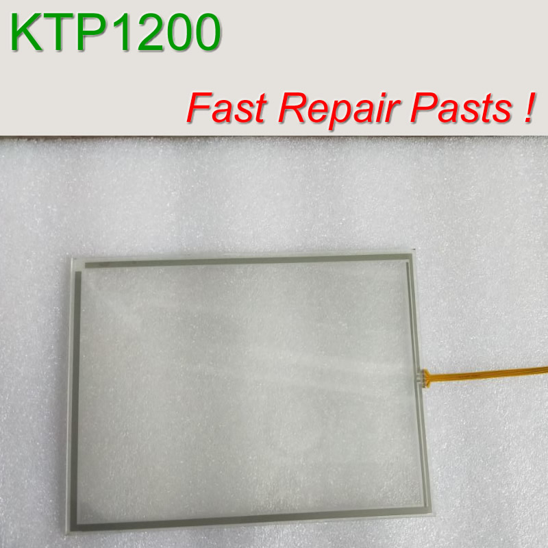 6AV2123 2MA03 0AX0 KTP1200 Membrane Keypad Touch Glass for SIMATIC HMI Panel repair do it yourself