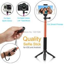 For Samsung S9 PLUS NOTE S10 E/G4 Z2 Camera Photo Selfie Stick Extendable Gopro/Xiaoyi Monopod Bluetooth Shutter+YunTeng Tripod