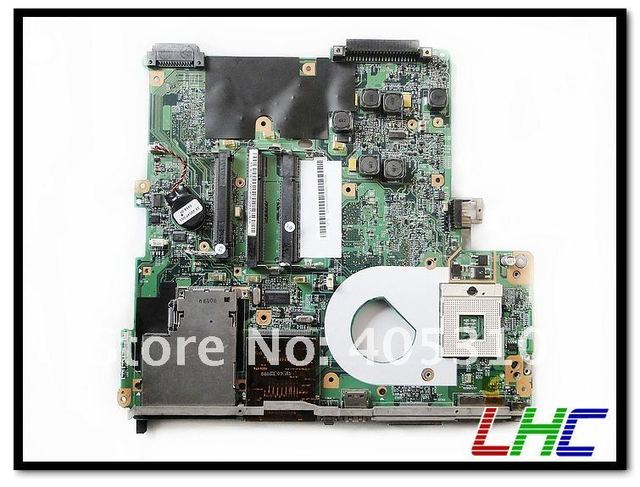 Laptop motherboard DV4000 403894-001 intel integrated mainboard with 1x Card reader, 2x USB port , 1x 1394 pot, 1x IDE HDD port