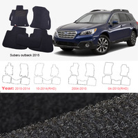 5pcs High Quality Odorless Auto Carpet Mats Perfect Fitted For Subaru Outback