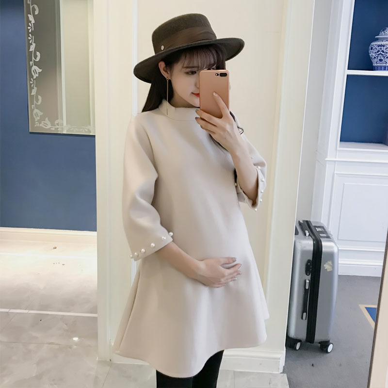 Women Maternity Winter Coats for Pregnant Womans Clothes Winter Fashion Beeding Long Sleeve Pregnancy Tops Maternity Outfit fashion cotton padded maternity shirts autumn winter fashion thick knitted long sleeve pregnancy tops loose maternity clothes