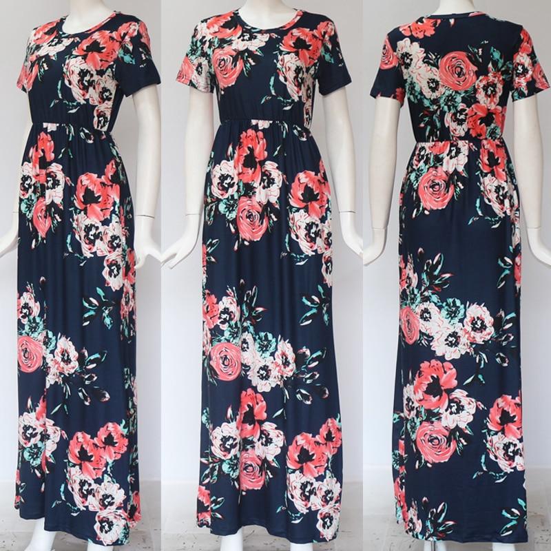 GVN Rocks Floral Boho Summer Maxi Dress