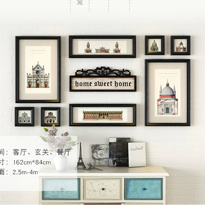Wall Picture Frame Sets wall frames set promotion-shop for promotional wall frames set on